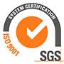 certificato ISO 9001 SGS